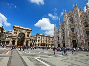 Silvester v Miláne a Verone